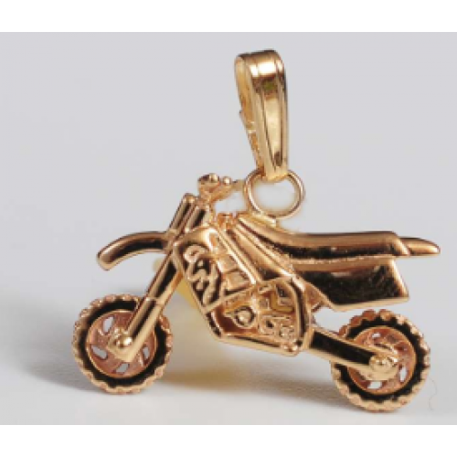 Custom Motorcross Pendant