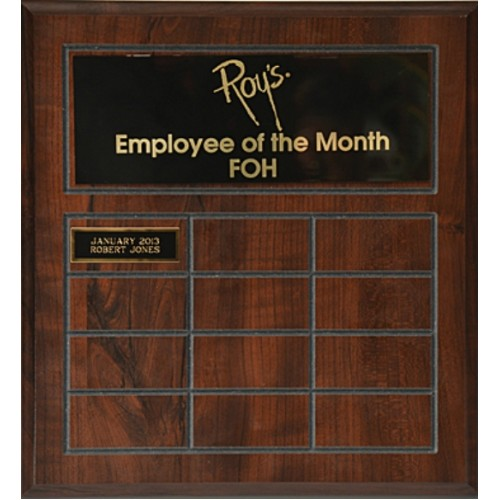 Employee Of The Month Award Plaques