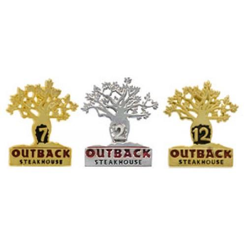 Outback Anniversary Award Pin